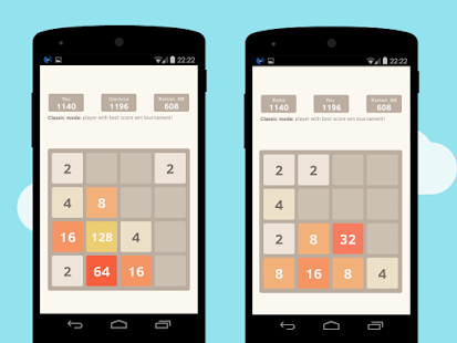 2048 Number puzzle game APK for Nokia