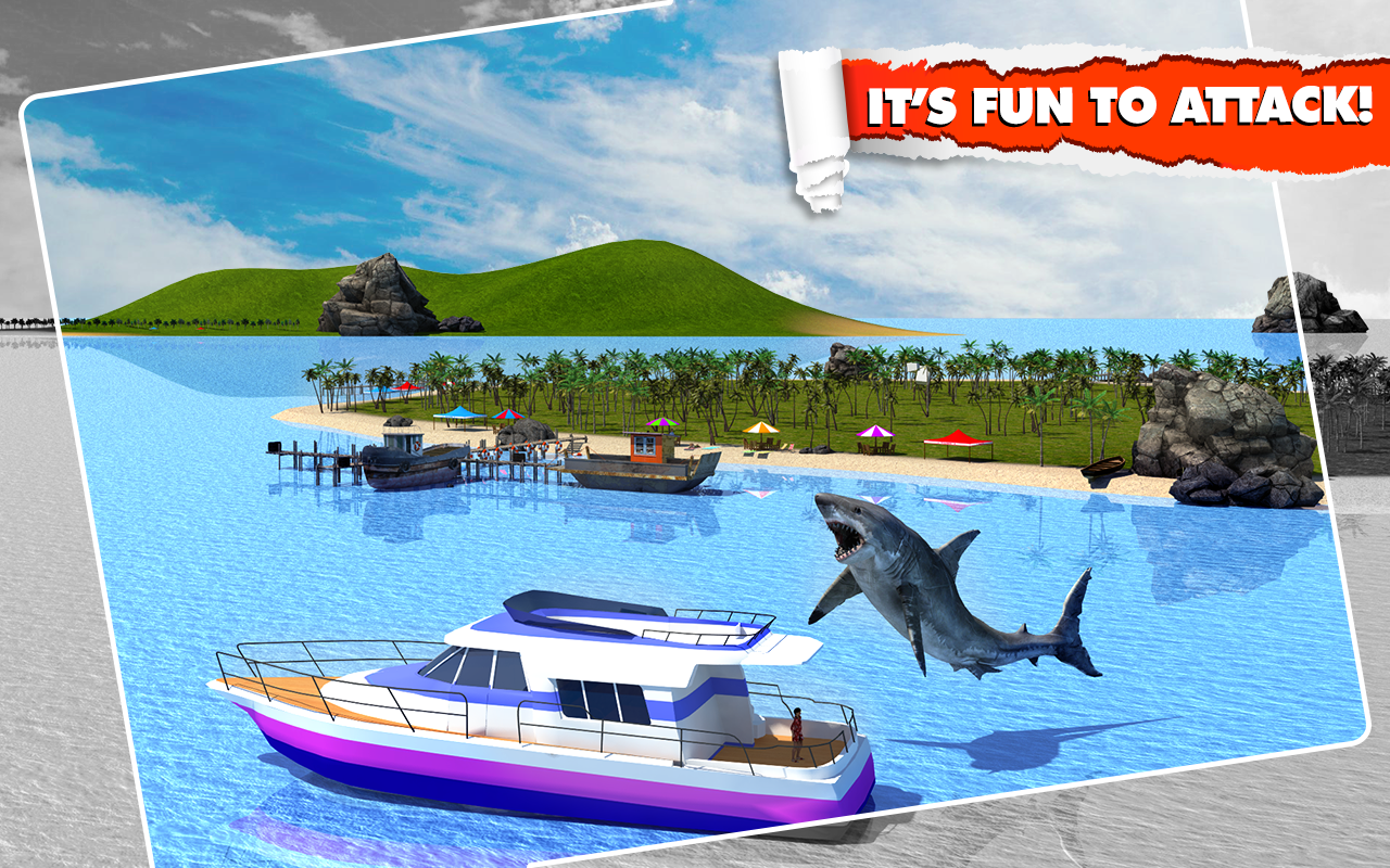 Angry Shark Simulator 3D Screenshot 7