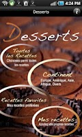 Screenshot of iCuisine Desserts