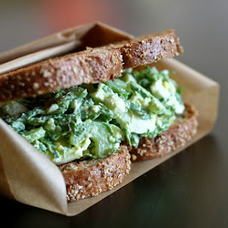 Spinach-ful Egg Salad