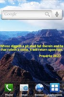 Screenshot of Bible Verses Live Wallpaper 2
