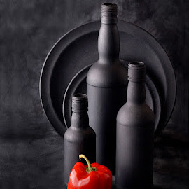 Touch of color by Rakesh Syal - Artistic Objects Still Life