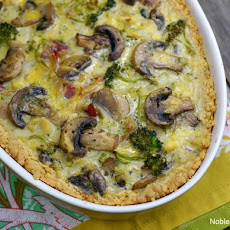 Broccoli, Bacon and Cheese Pie