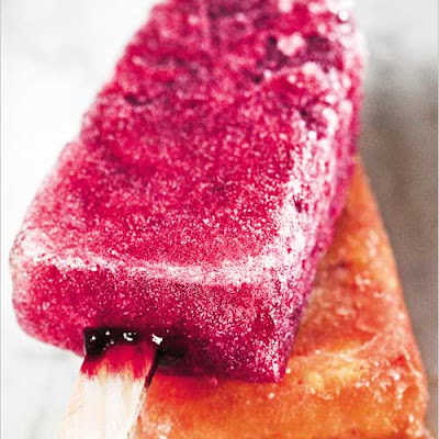 Hibiscus Ice Pops