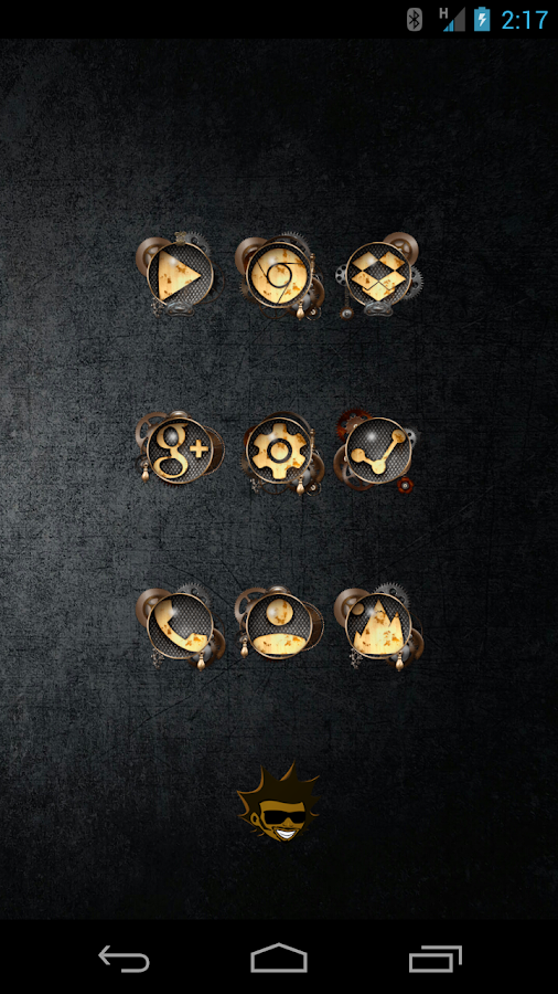 Tha Steampunk - Icon Pack Screenshot 0