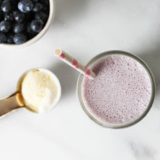 Boozy Blueberry-Maple Shake