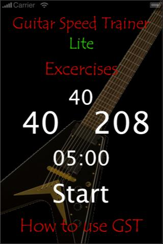 Guitar Speed Trainer Lite