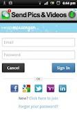Screenshot of Friends & Messenger