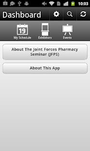 Joint Forces Pharmacy Seminar - screenshot