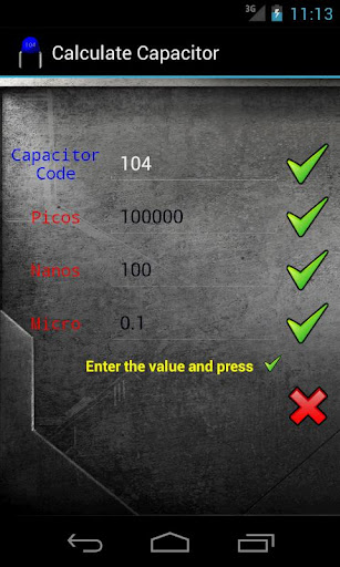 Calculate Capacitor