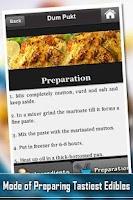 Screenshot of 101 Recipes North Indian Foods