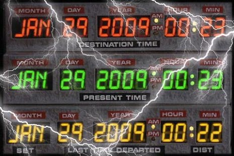 DeLorean Time Circuit - screenshot