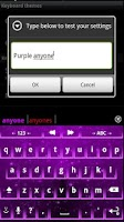 Screenshot of Cosmic - Purple Theme