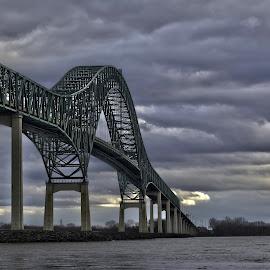 Pont Laviolette by Sebastien Dunn - Buildings & Architecture Bridges & Suspended Structures ( hdr, transport, architecture, bridge, pont )