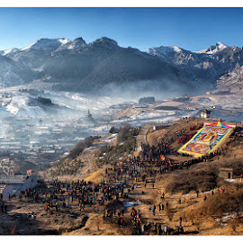 Festival at Tibet by Jason Chor - News & Events World Events