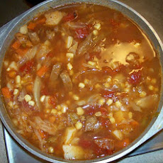 Stacy's Favorite Vegetable Beef Soup
