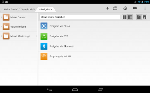 File Expert HD - File Manager Screenshot