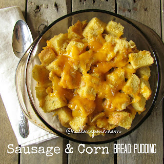 Sausage and Corn Bread Pudding ~ Restaurant Remake from South (Tupelo, MS)