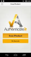 Screenshot of Authenticateit