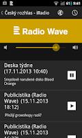 Screenshot of Český rozhlas - iRadio