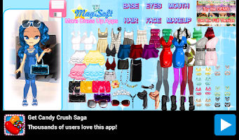 Screenshot of DressUp Maidens Office Styles