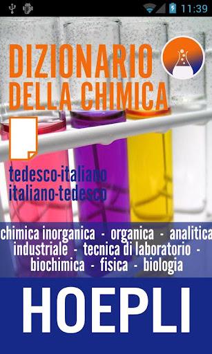 Dizionario della chimica