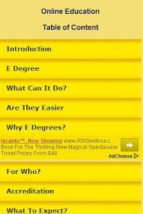 Online Education Guide - screenshot