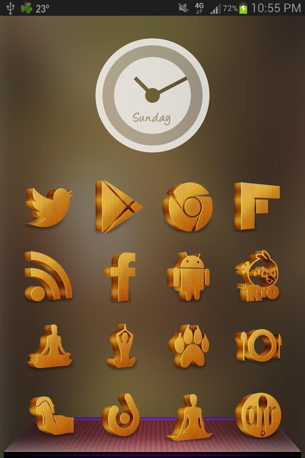 Grove Multilauncher Icon Pack Screenshot 7