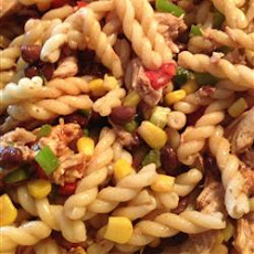 Barbeque Chicken Pasta Salad