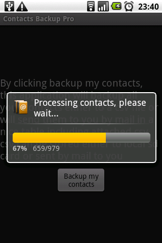 Contacts Backup Pro