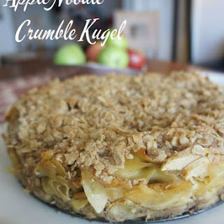 Apple Kugel Crumble Cake