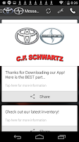 Screenshot of CF Schwartz Toyota Scion