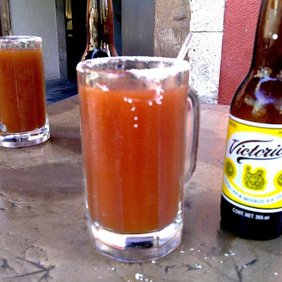 Michelada Cocktail