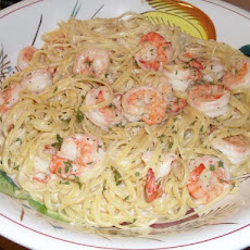 Linguini Alfredo With Shrimp