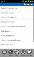 Screenshot of Stockholm, Sweden Travel Guide