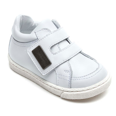 Dolce & Gabbana Toddler Leather Trainer TRAINERS