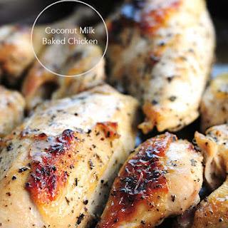 Baked Chicken Coconut Milk Recipes