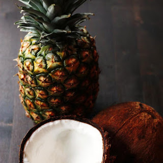 Coconut Pineapple Rum Drink