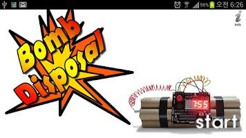 Screenshot of Bomb Disposal Game