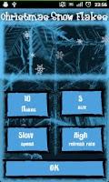 Screenshot of Christmas Snow Flakes