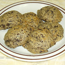 Low Fat Whole Wheat Banana Nut Chocolate Chip Cookies