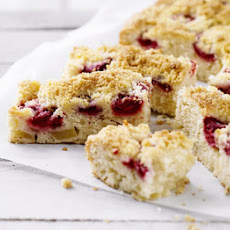Raspberry & Apple Crumble Squares