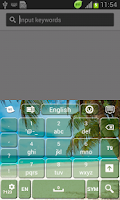 Screenshot of Paradise Keyboard