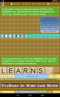 Screenshot of Words Solver 4 Friends + Ten