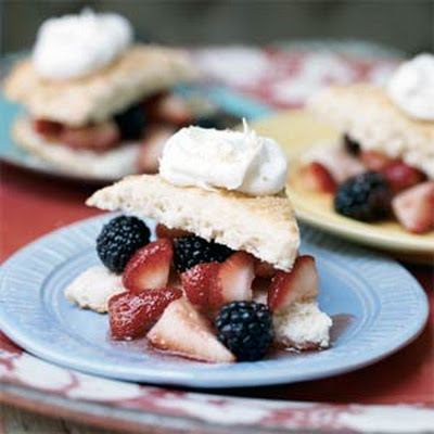 Shortcakes with Fresh Berries