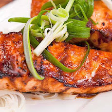Glazed Salmon Fillets