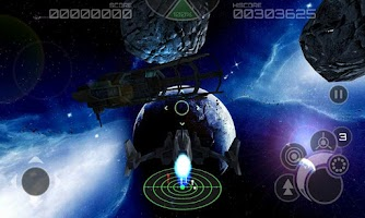 Screenshot of Asteroids 2012 3D HD