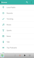Screenshot of TuneIn Radio Pro - Live Radio