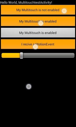 Multitouch for all Views