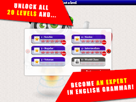 Screenshot of Game to learn English
